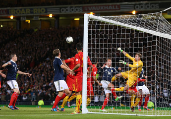 Scotland v FYR Macedonia 2014 World Cup Qualifying European Zone - Group A