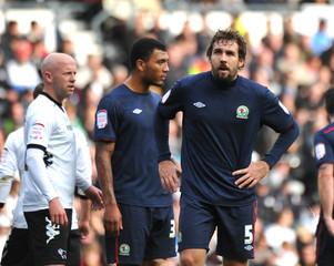 Derby County v Blackburn Rovers - npower Football League Championship