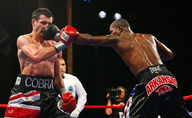 Carl Froch v Jermain Taylor WBC Super Middleweight Title
