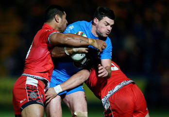 Tonga v Italy - Rugby League World Cup 2013 Group C