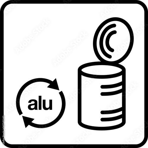 Batterien Batterien Recycling Piktogramm Akku Recycling Stock