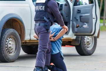 Police arrested,Police,Gun.