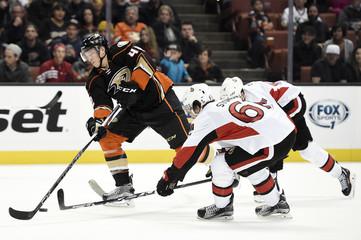 NHL: Ottawa Senators at Anaheim Ducks