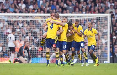 Fulham v Arsenal - Barclays Premier League