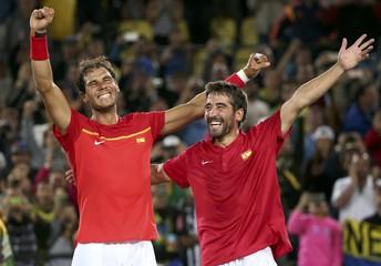 Tennis - Final - Men's Doubles Gold Medal Match