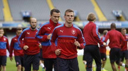 Czech Republic Training - EURO 2016