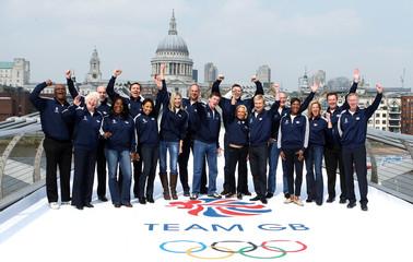 British Olympic Association - London 2012 Team GB announcement