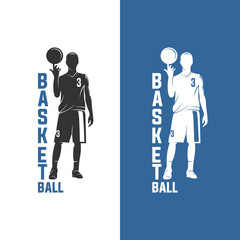 BASKET BALL, pure player, isolated