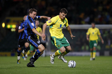 Norwich City v Gillingham Carling Cup First Round