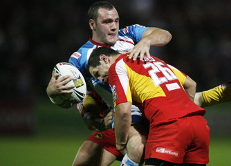 Wakefield Trinity Wildcats v Catalans Dragons engage Super League Elimination Play-Off