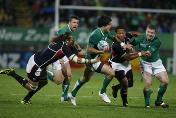 Ireland v United States of America IRB Rugby World Cup 2011 Pool C