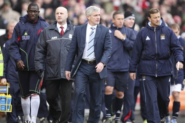 Stoke City v Manchester City Barclays Premier League