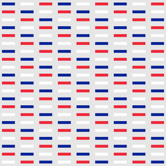 Background in the colors of the national flag of France. Small rectangles, symbolizing the bricks of the wall of the Bastille
