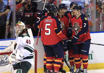 NHL: Minnesota Wild at Florida Panthers