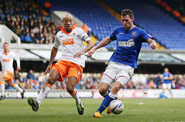 Ipswich Town v Blackpool - npower Football League Championship