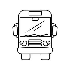 bus truck icon vector illustration graphic design
