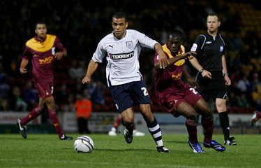 Bradford City v Preston North End Carling Cup Second Round