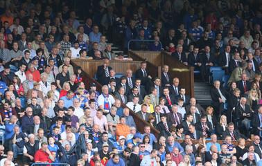 Rangers v Heart of Midlothian Clydesdale Bank Scottish Premier League