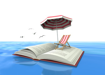Finally we got the summer, I leave for the beach holidays and I'll read many lovely books.