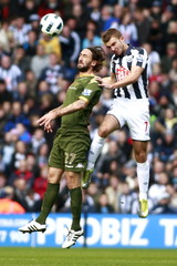 West Bromwich Albion v Fulham Barclays Premier League
