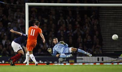Scotland v Holland 2010 World Cup Qualifying European Zone - Group Nine