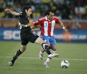 Paraguay v New Zealand FIFA World Cup South Africa 2010 - Group F