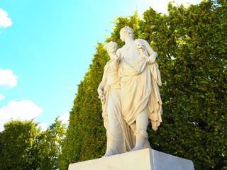 シェーンブルン宮殿の彫刻
