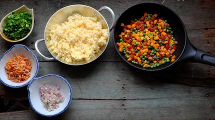 Vietnam food, fried rice
