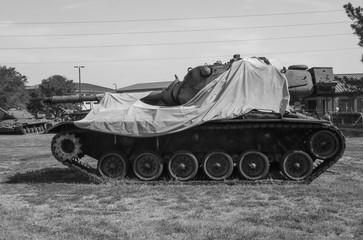 Antique Army Tank