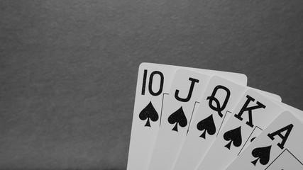 Poker. Royal Flush