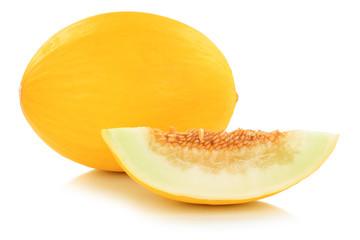 Honigmelone Früchte Frucht Obst Sommer Freisteller freigestellt isoliert