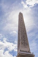 Luxor Obelisk at Place de la Concorde in Paris
