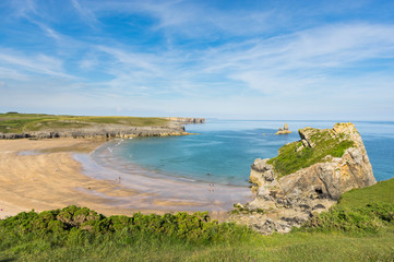 Broadhaven Beach, Pembrokeshire, Wales