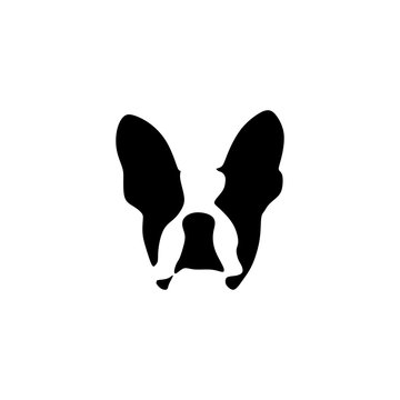French bulldog vector illustration