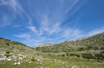Biokovo National Park in Croatia