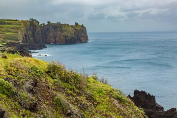 North coast of Sao Miguel Island, Atlantic Ocean.