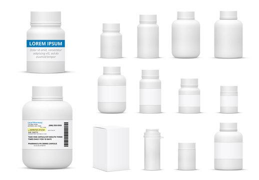 35 Prescription Medication Mockups