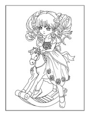 Coloring page The Fairy