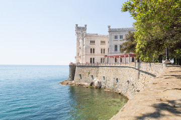 Castle Miramare close to Triest