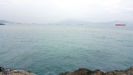 Sea landscape of Yeosu