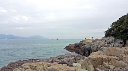Sea landscape of Yeosu
