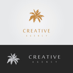 coconut trees logo
