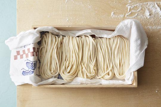Box of Udon Noodles
