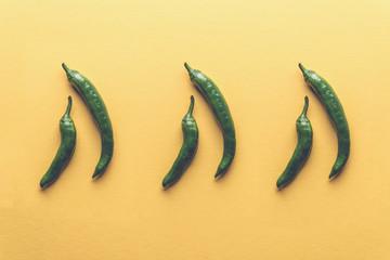 Six peppers