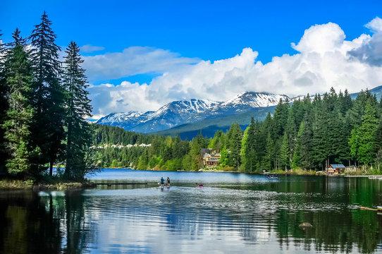 Alpha Lake, Whistler, British Columbia, Canada