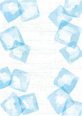 水色 和柄 氷 白