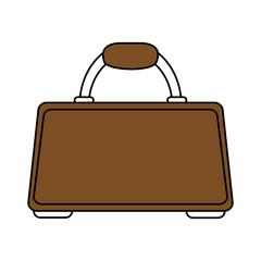 brown briefcase design
