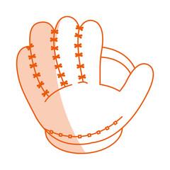 monocromatic baseball glove design