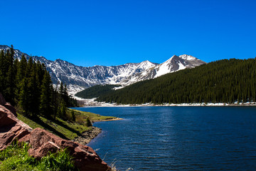 Green Mountain Reservoir in Colorado