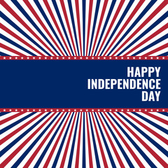 happy independence day, greetings card